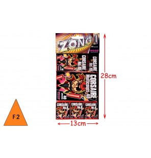 SACHET D'ASSORTIMENT 84 PETARDS ZONG 1